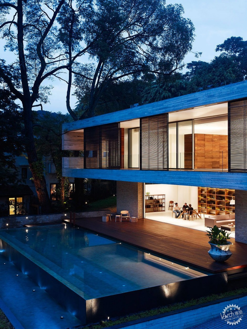 ONG&ONG have designed the JKC1 house in Singapore.第3张图片
