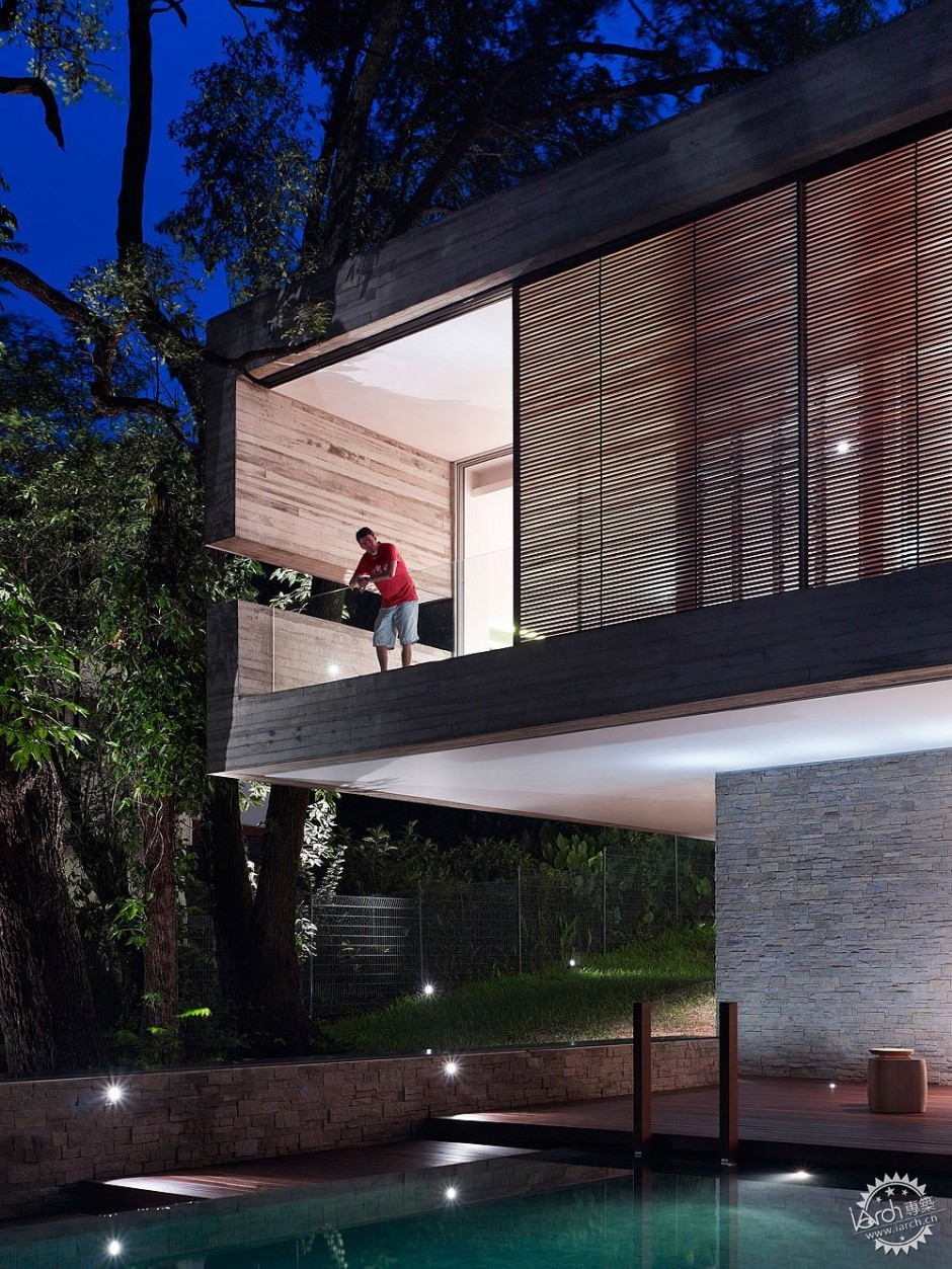 ONG&ONG have designed the JKC1 house in Singapore.第5张图片