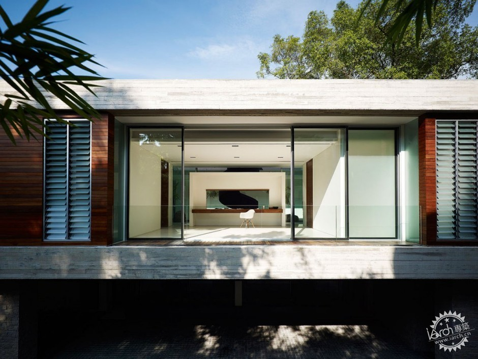 ONG&ONG have designed the JKC1 house in Singapore.第6张图片