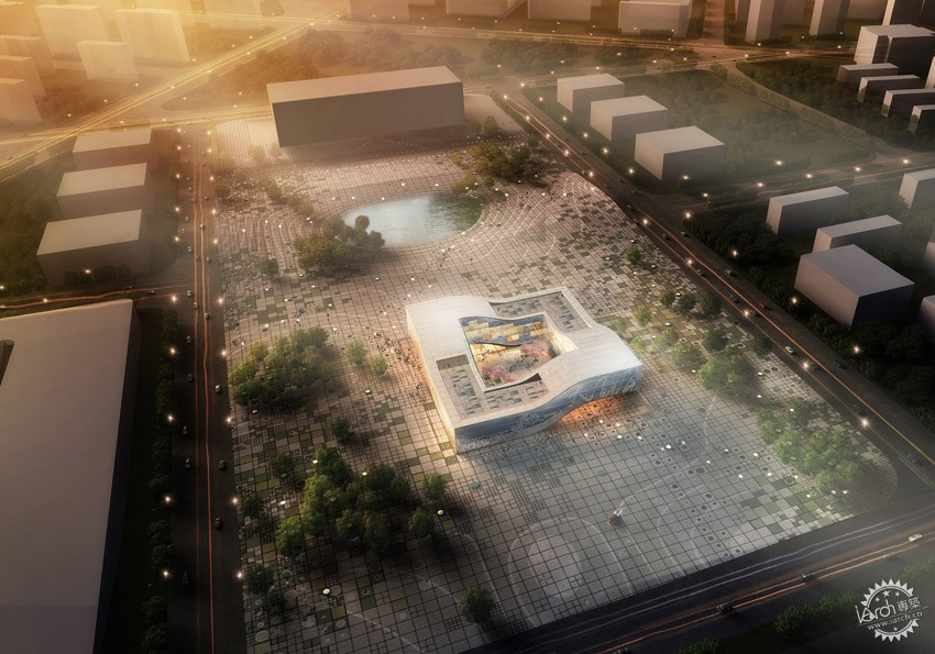 DQZ文化中心,HAO设计  DQZ Cultural Center by HAO / Holm Architecture Office + AI第1张图片