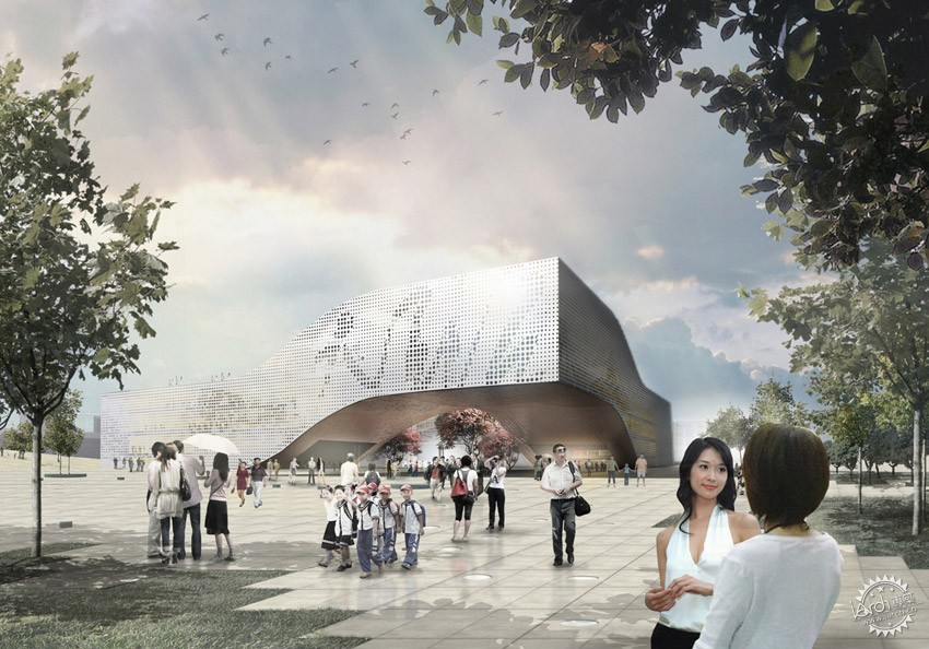 DQZ文化中心,HAO设计  DQZ Cultural Center by HAO / Holm Architecture Office + AI第2张图片