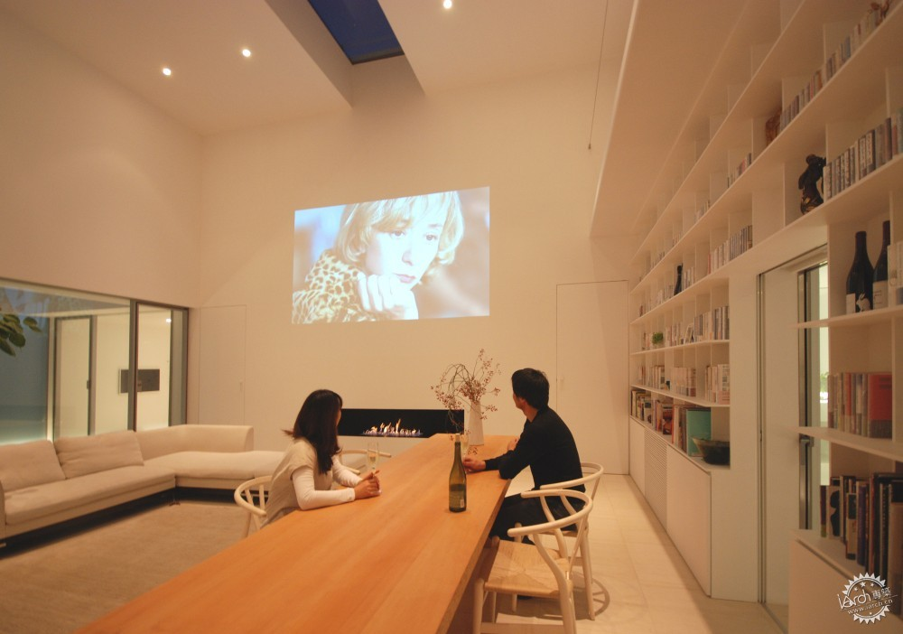 Library House / Shinichi Ogawa & Associates第4张图片