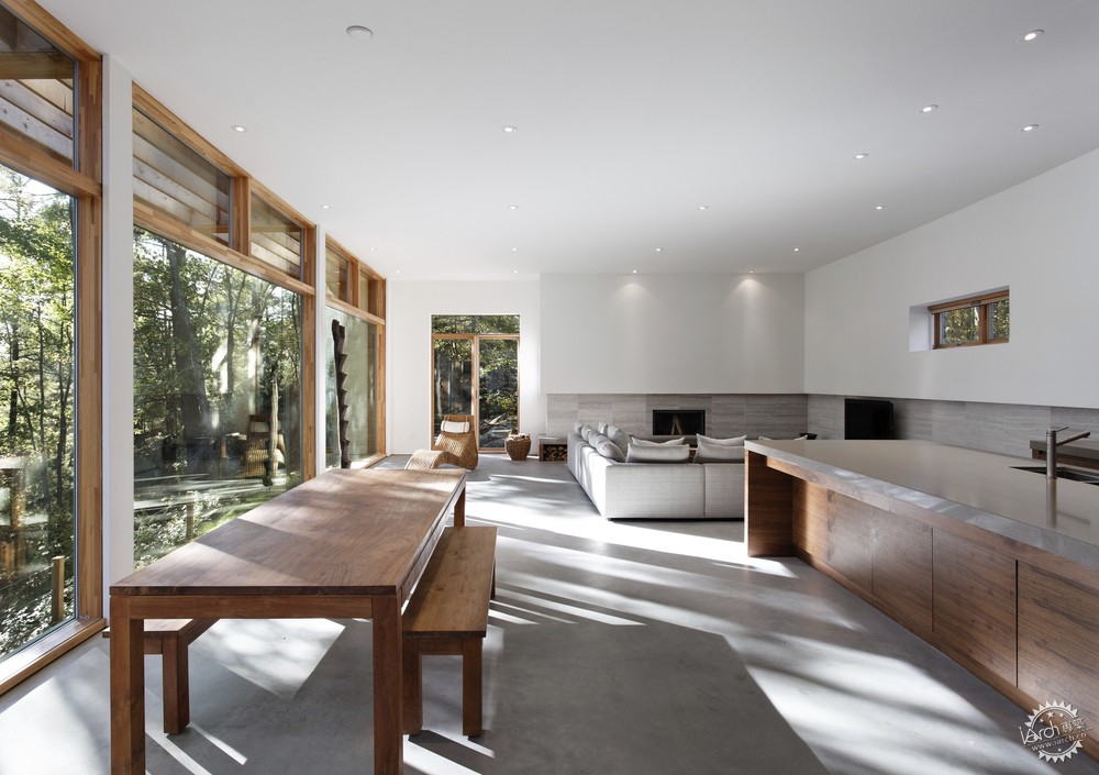 Carling公寓/ Tact Architecture建筑事务所Carling Residence / Tact Architecture第4张图片