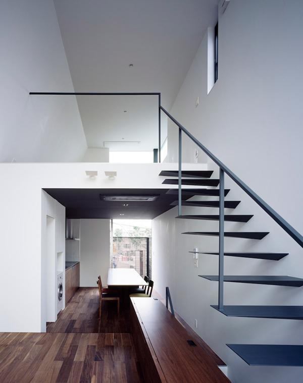 日本楼梯装修效果图