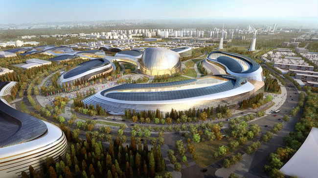 AS+GG在阿斯塔纳世博会竞赛胜出/AS+GG Wins Competition for Astana World EXPO第1张图片