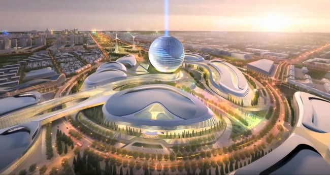 AS+GG在阿斯塔纳世博会竞赛胜出/AS+GG Wins Competition for Astana World EXPO第4张图片