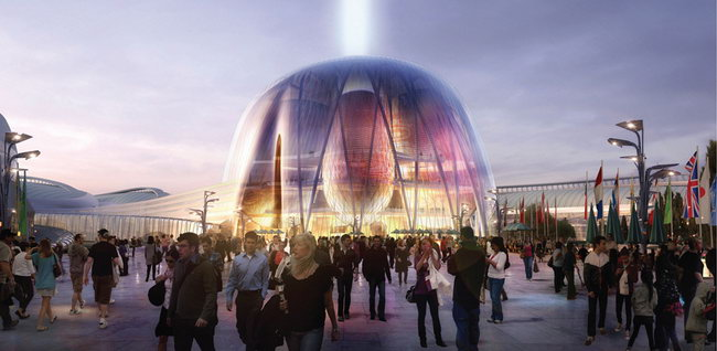 AS+GG在阿斯塔纳世博会竞赛胜出/AS+GG Wins Competition for Astana World EXPO第2张图片
