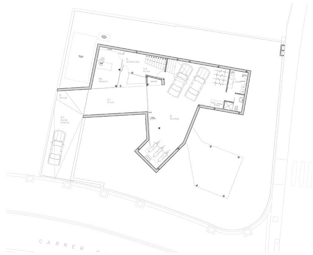 House And Studio Yc / RTA-Office第11张图片