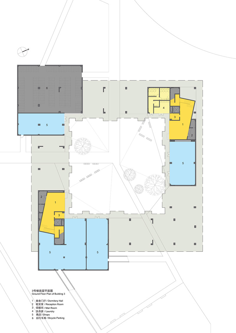 Stepped Courtyards / OPEN第25张图片
