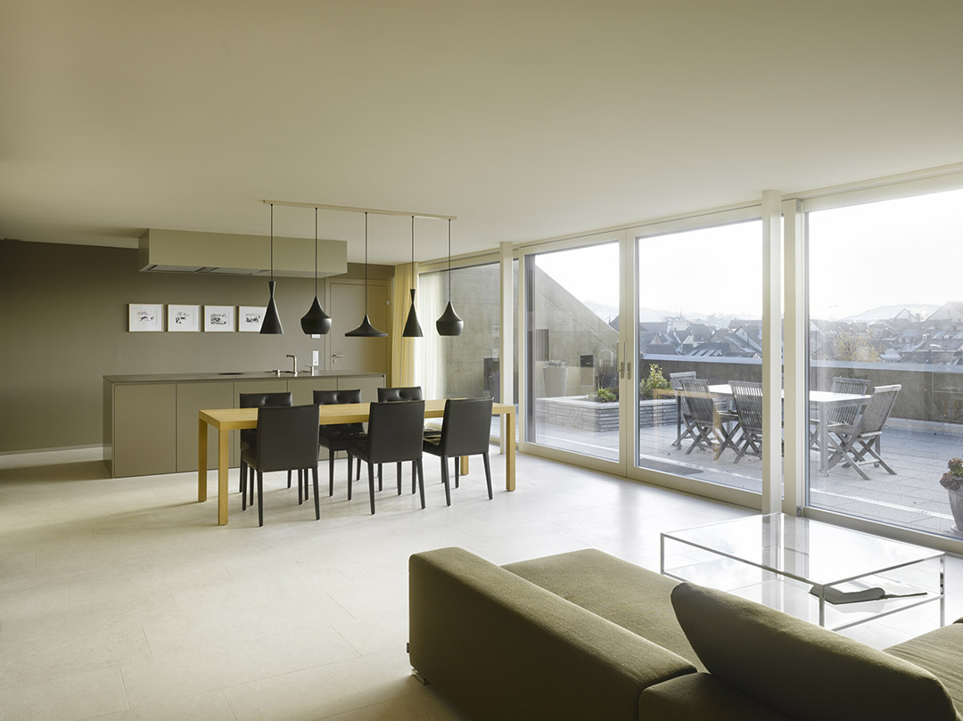 Appartment House Herrenmatt in Brugg, AG / Ken Architekten第16张图片