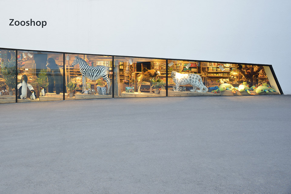 Renovation and Extension of the Zurich Zoo Foyer, 2014 / L3P第1张图片
