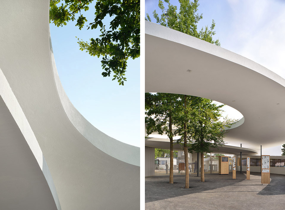 Renovation and Extension of the Zurich Zoo Foyer, 2014 / L3P第3张图片