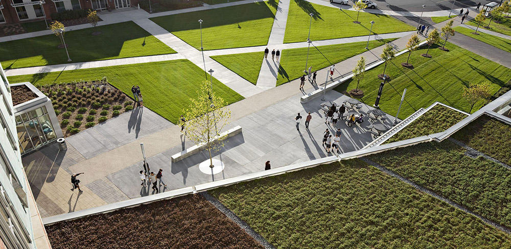 2014 ASLA Salem State University – Marsh Hall第3张图片