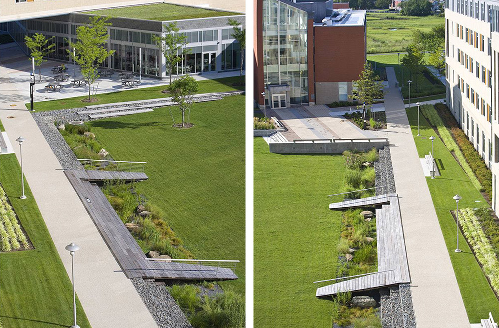 2014 ASLA Salem State University – Marsh Hall第4张图片