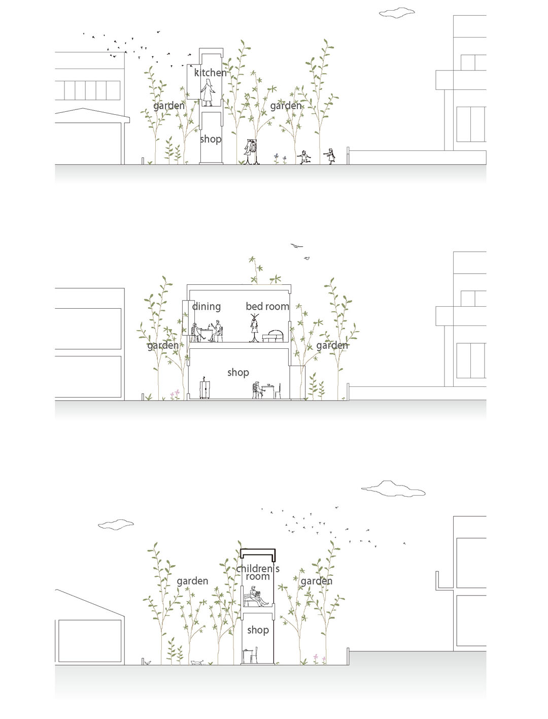 Forest House in the City / Studio Velocity第10张图片