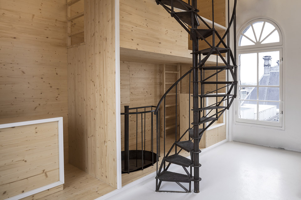 Room On The Roof / i29 interior architects第2张图片