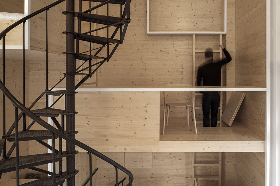 Room On The Roof / i29 interior architects第4张图片