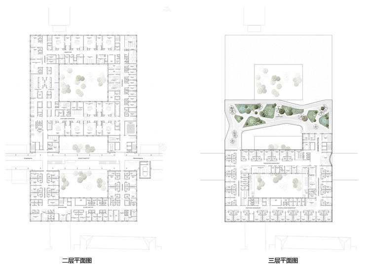 Vendsyseel医院改扩建(Vendsyseel Hospital-Extension & Renovation)第11张图片