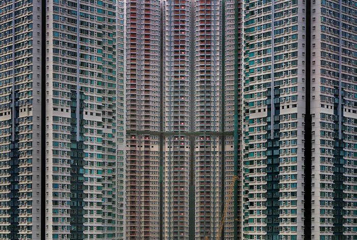 Architecture of Density / Michael Wolf第10张图片