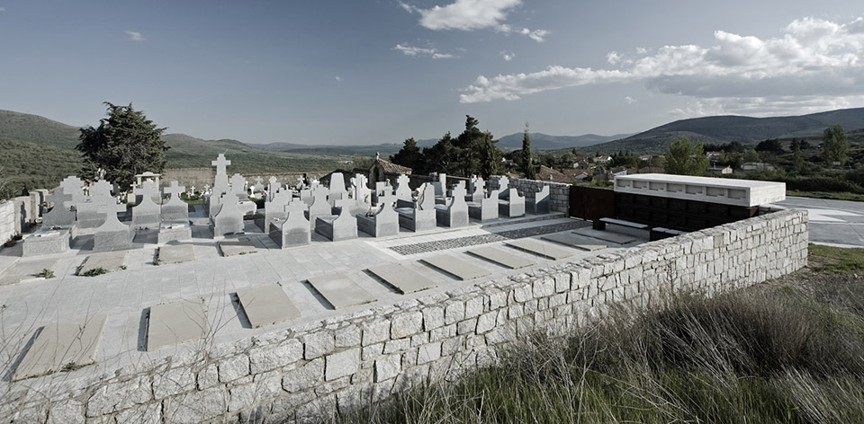 Access And Columbarium In Robregordo′s Cemetery / MUKA Arquitectura第1张图片
