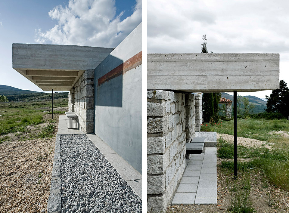 Access And Columbarium In Robregordo′s Cemetery / MUKA Arquitectura第5张图片