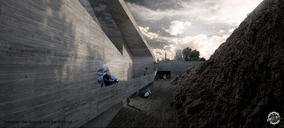 Con-Cave: Bamiyan Culture Center / reMIX studio第8张图片