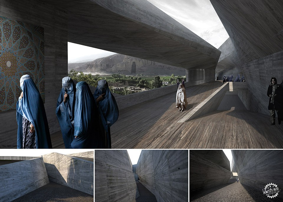 Con-Cave: Bamiyan Culture Center / reMIX studio第2张图片