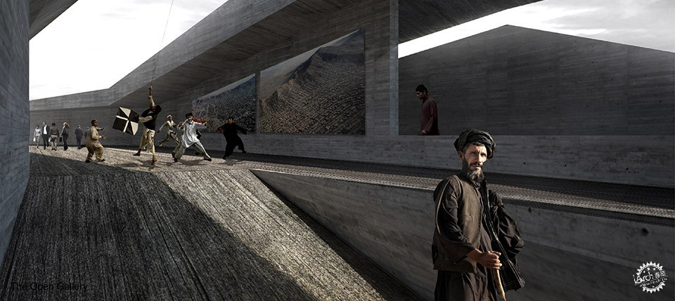 Con-Cave: Bamiyan Culture Center / reMIX studio第10张图片