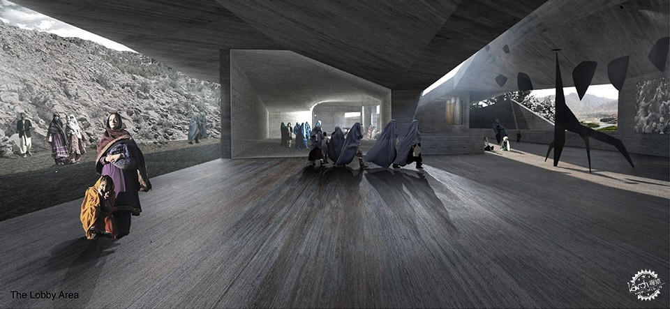 Con-Cave: Bamiyan Culture Center / reMIX studio第9张图片