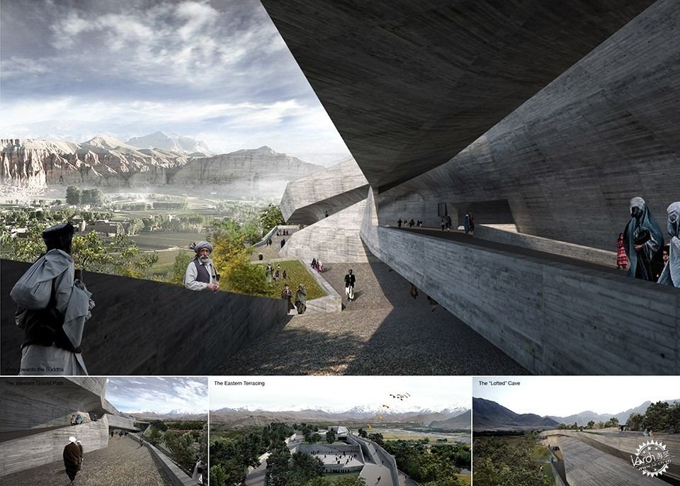 Con-Cave: Bamiyan Culture Center / reMIX studio第19张图片