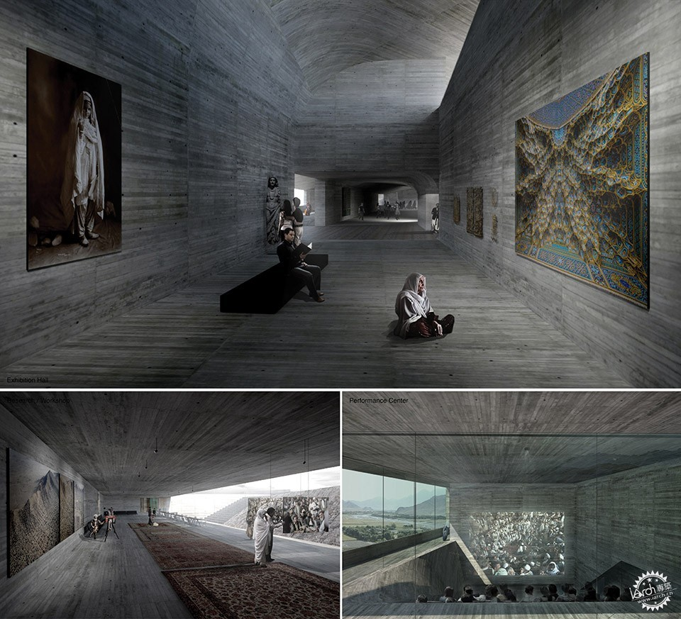 Con-Cave: Bamiyan Culture Center / reMIX studio第20张图片