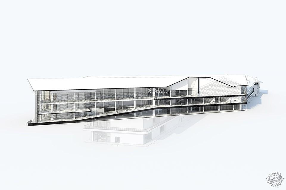 Xinglong Visitor Center, China / Atelier Alter第25张图片