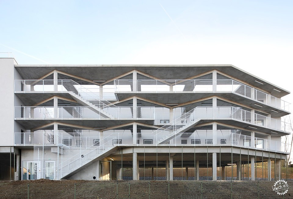 50 Housing units, Limeil-Brevannes / Bruther第1张图片