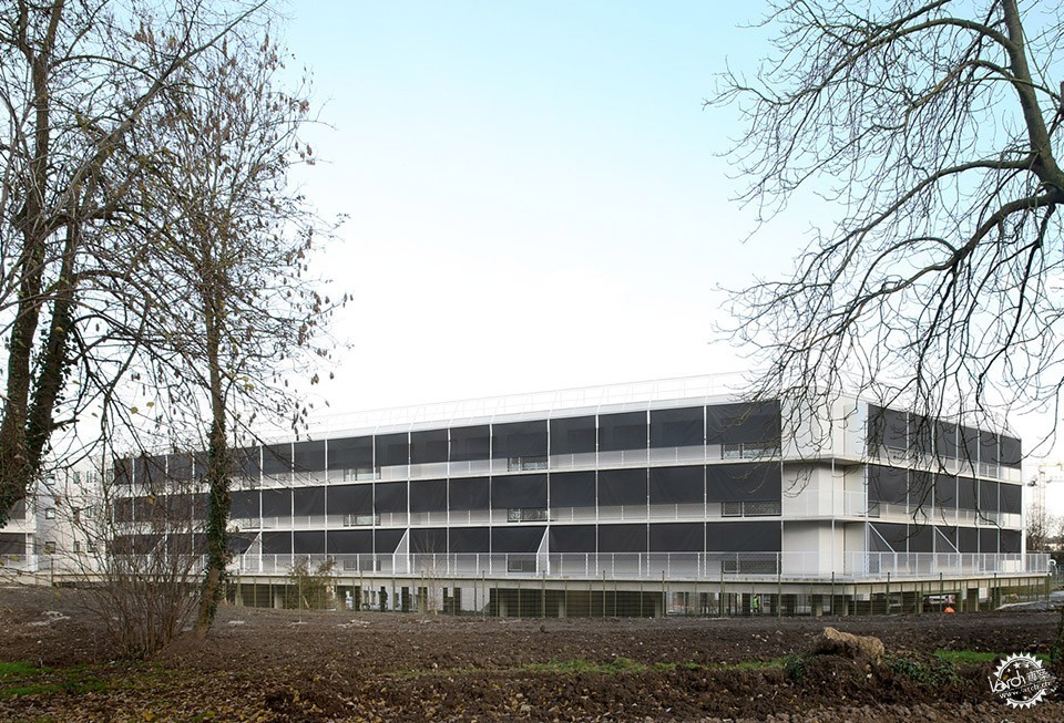 50 Housing units, Limeil-Brevannes / Bruther第5张图片