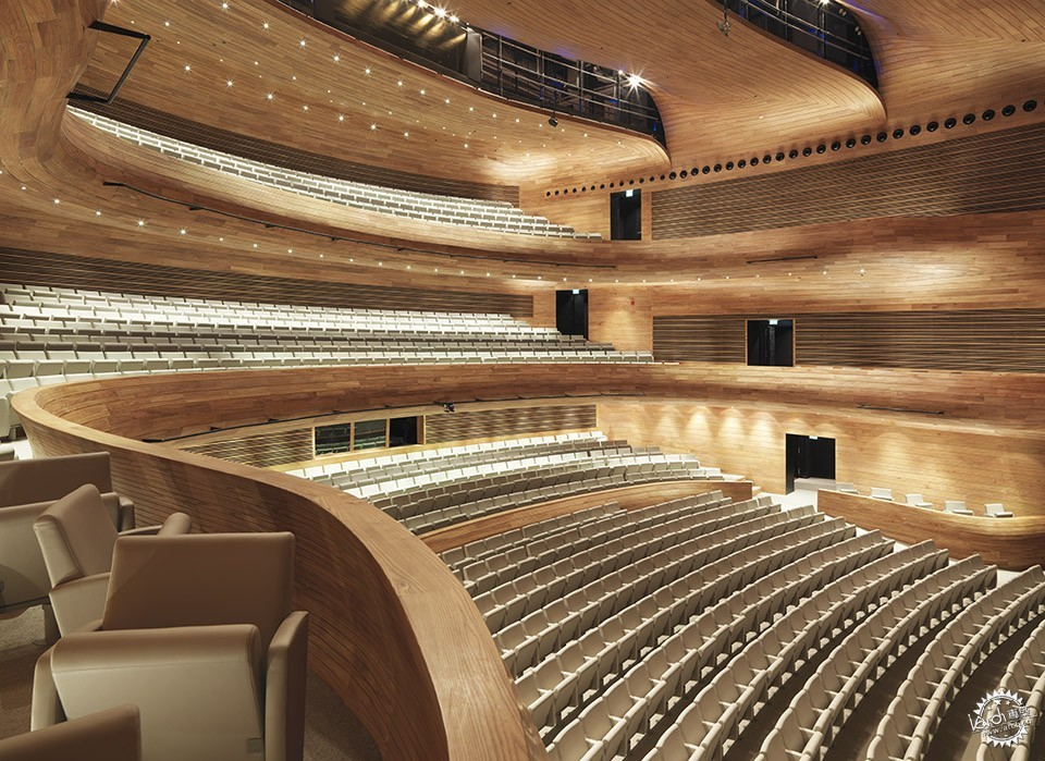 National Theatre, Al-Manama, Bahrain / as ARCHITECTURE-STUDIO第3张图片