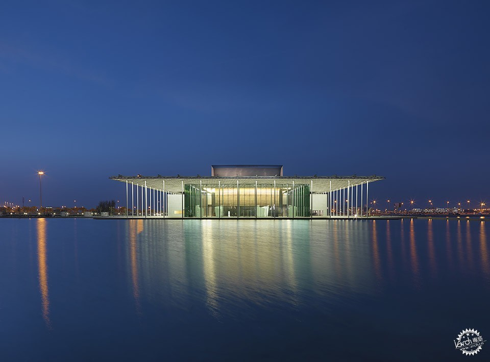 National Theatre, Al-Manama, Bahrain / as ARCHITECTURE-STUDIO第1张图片