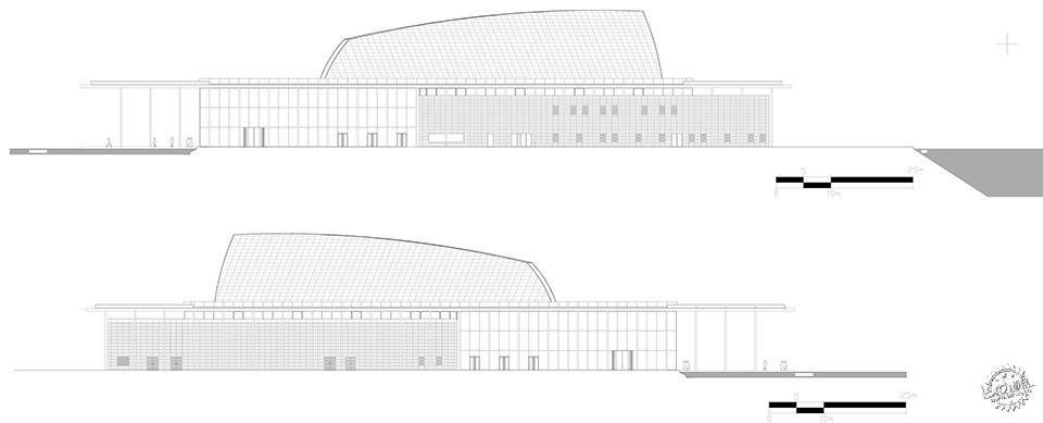 National Theatre, Al-Manama, Bahrain / as ARCHITECTURE-STUDIO第12张图片