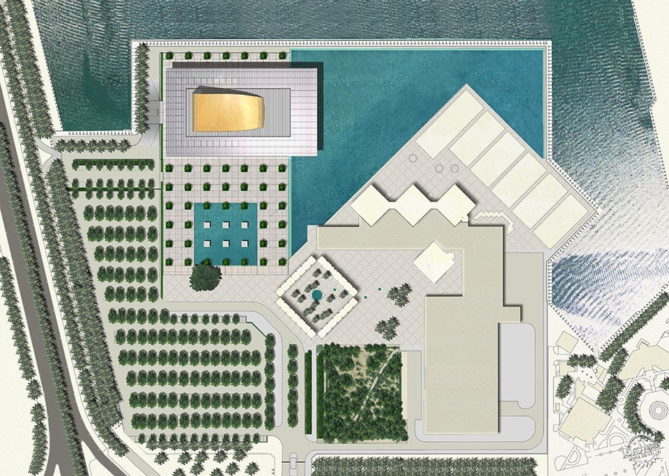 National Theatre, Al-Manama, Bahrain / as ARCHITECTURE-STUDIO第10张图片