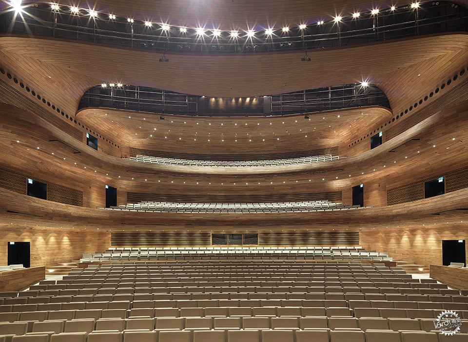 National Theatre, Al-Manama, Bahrain / as ARCHITECTURE-STUDIO第4张图片
