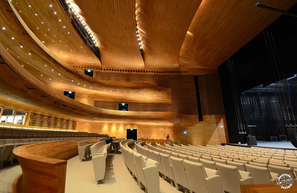 National Theatre, Al-Manama, Bahrain / as ARCHITECTURE-STUDIO第8张图片