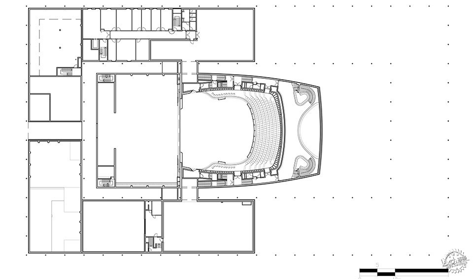 National Theatre, Al-Manama, Bahrain / as ARCHITECTURE-STUDIO第14张图片