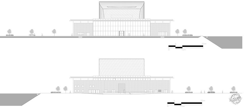National Theatre, Al-Manama, Bahrain / as ARCHITECTURE-STUDIO第11张图片