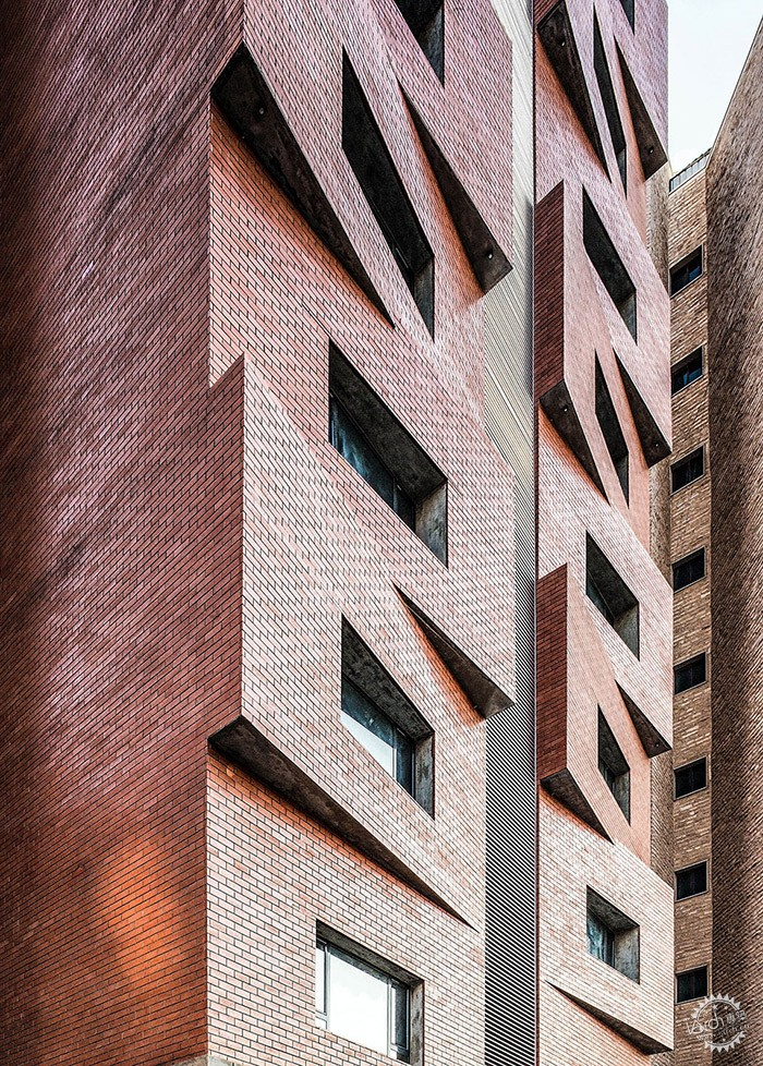 Edges Apartments, Salmiya, Kuwait / Studio Toggle第3张图片