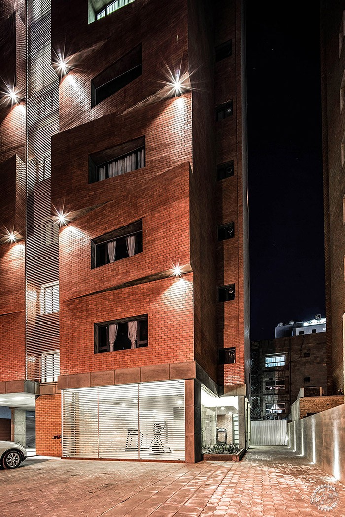 Edges Apartments, Salmiya, Kuwait / Studio Toggle第6张图片