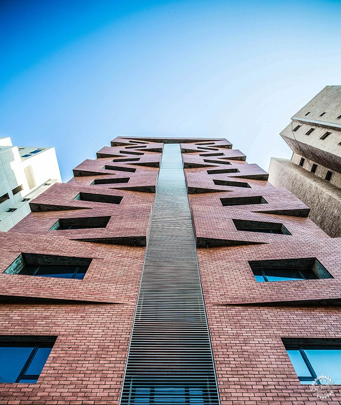 Edges Apartments, Salmiya, Kuwait / Studio Toggle第10张图片
