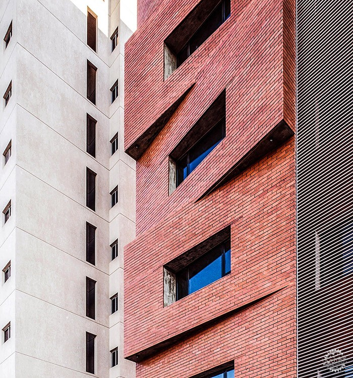 Edges Apartments, Salmiya, Kuwait / Studio Toggle第13张图片