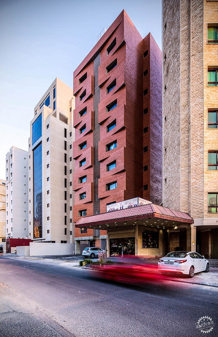 Edges Apartments, Salmiya, Kuwait / Studio Toggle第15张图片