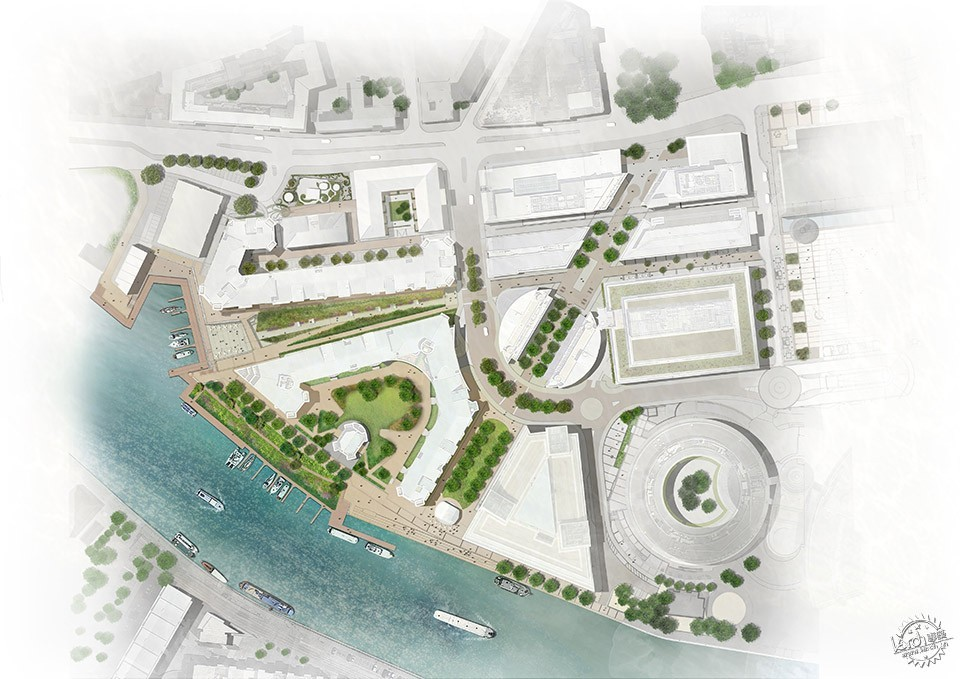 Sustainable Public Realm Landscape for Bristol's Historic Waterfront / Grant...第2张图片