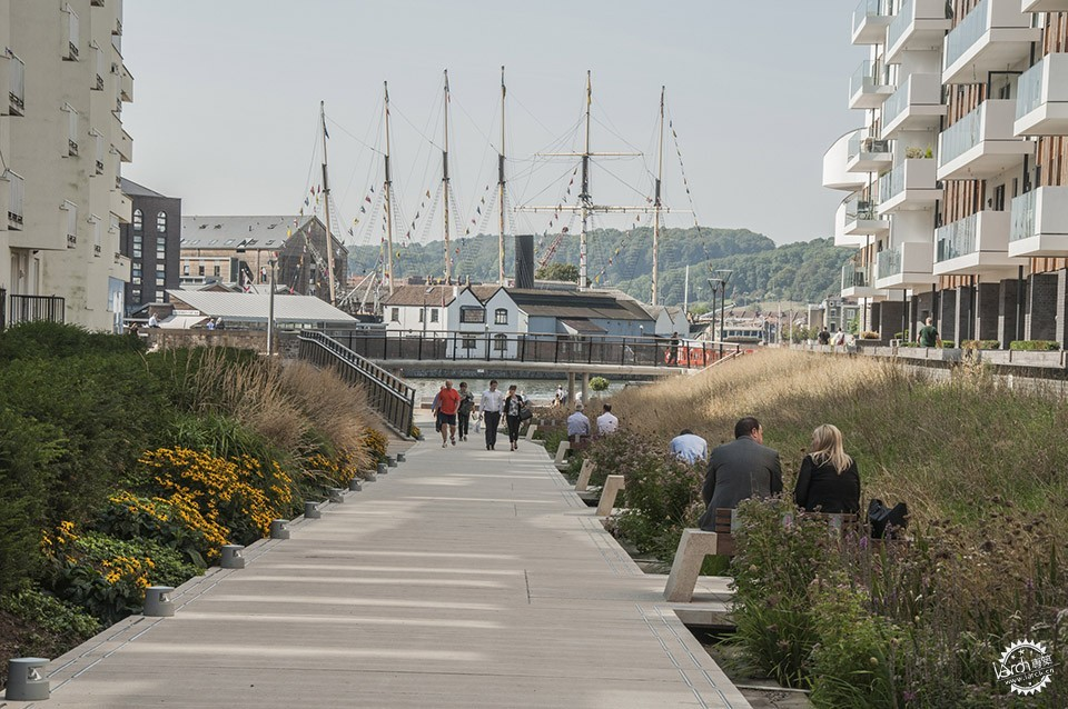 Sustainable Public Realm Landscape for Bristol's Historic Waterfront / Grant...第6张图片