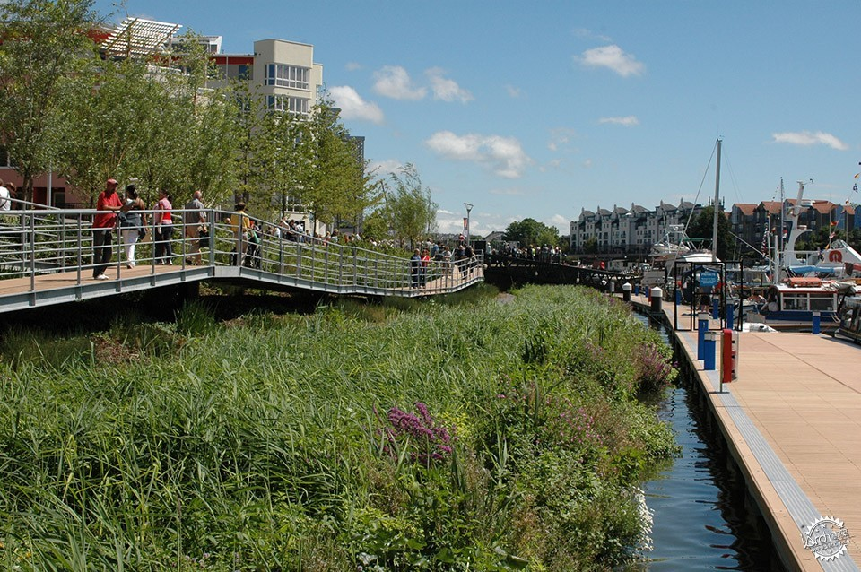 Sustainable Public Realm Landscape for Bristol's Historic Waterfront / Grant...第3张图片